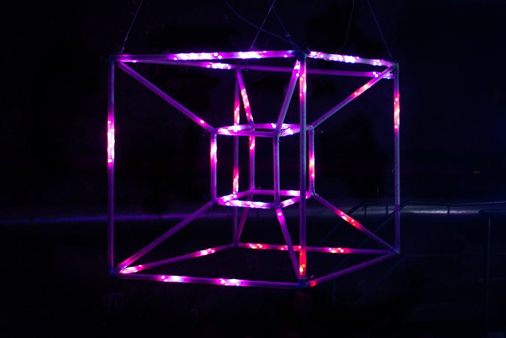 Tesserakt - Site-specific Light Installation